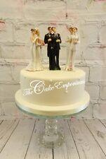 WEDDING CAKE TOPPER  SAME SEX GAY / LESBIAN RESIN ORNAMENT