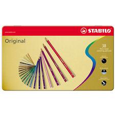 Stabilo original crayons boîtes de 12, 24 & 36 disponible toutes les couleurs