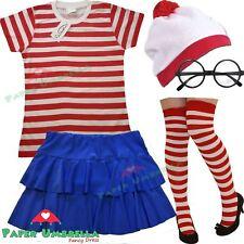 Ladies Girls Wheres Wally T-Shirt Book Week fancy dress Hen Party costume