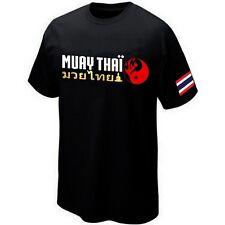 MUAY THAI FIGHTER BOXING THAILAND T T-SHIRT Silkscreen