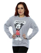 Disney Damen Mickey Mouse Believe Sweatshirt