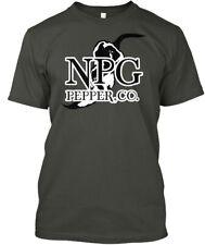 Npg Black &amp White Logo Hanes Tagless Tee T-Shirt