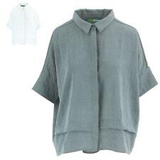 Shirt Top Blouse Smart Casual Womens BOHEMIA SWEDEN Short Sleeves