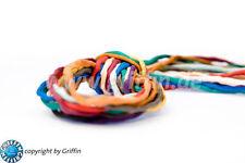 (2,03 €/m) Habotai Seidenband 98 cm 3mm  verschiedene Farben