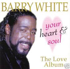 BARRY WHITE - Your Heart & Soul: The Love Album (UK/EU 12 Tk CD Album)