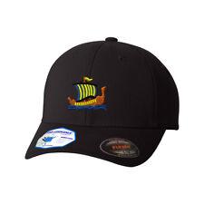 Viking Long Ship Flexfit® Pro-Formance® Embroidered Cap Hat