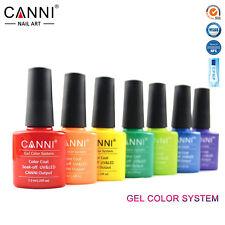 CANNI Soak Off UV LED Gel Polish 7.3ml UV Nail Gel Polish