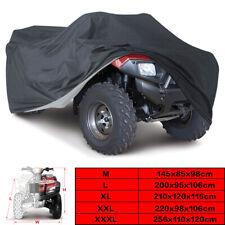 M-3XL 190T Waterproof ATV Cover Universal Fit Polaris Honda Yamaha Can-Am Suzuki