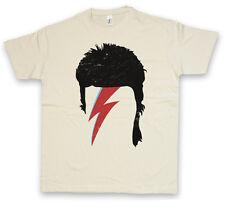 BOWIE HAIRSTYLE T-SHIRT – Hair Ziggy David Cut Music Stardust