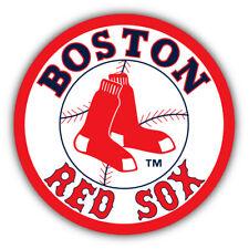 Boston Red Sox MLB Baseball Combo  Car Bumper Sticker Decal - 3'' or 5''