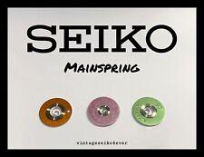 NOS GENUINE SEIKO401 MAINSPRING PART NO.401xxx GS KS ETC. FROM LIST