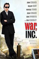 WAR Inc. DVD. John Cusack, Hilary Duff, Marisa Tomei, Joan Cusack, Dan Aykroyd