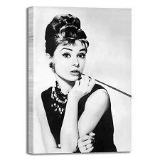 Audrey Hepburn modern art design quadro stampa tela dipinto telaio arredo casa