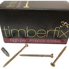 8g 4mm x 60mm PREMIUM CHIPBOARD PLY WOOD TIMBER SCREWS POZI CSK TIMBERFIX 360