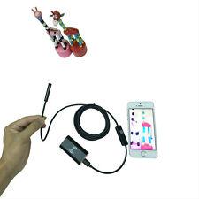 Wireless Wifi Waterproof Endoscope Inspection Camera For iPhone 7 LG V20 Pixel