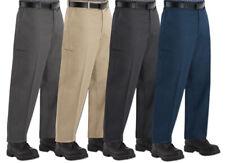 Red Kap Pants Cell Phone Pocket Men's Industrial Work Uniform Clothes