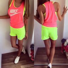 Woman's Fitness Shorts Top Bra Set 3 Parts