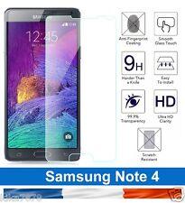 vitre protection verre trempé film de protecteur écran Samsung Galaxy Note 4 !!