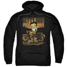 Betty Boop Rebel Rider Pullover Hoodies for Men or Kids