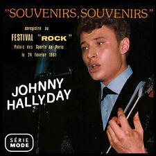 CD Johnny Hallyday Souvenirs, souvenirs enregistré au festival Rock / Serie Mode