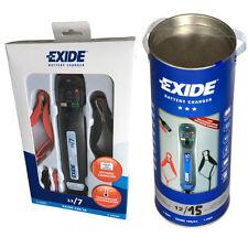 Exide Battery charger 12V 7A & 12V 15A loads Batteries until 150 AH or. 300 AH
