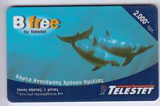 EUROPE  TELECARTE / PHONECARD .. GRECE 2000DS TELESTET DAUPHIN DOLPHIN
