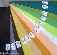 25 coloris au choix - FEUTRINE ** 20 x 30 cm ** épaisseur 1,5 mm FEUILLE COUPON