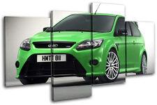 Ford Focus RS Cars MULTI DOEK WALL ART foto afdrukken