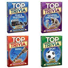 Top Trivia 1000 Quiz Film TV Music Sport General Knowledge Stocking Filler