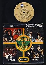 """ABBA - Profiles in Gold - Album 1 - 7"""" Single - U.S.A."""