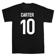 Dan carter all blacks hommage t shirt new zealand nz rugby-toutes tailles