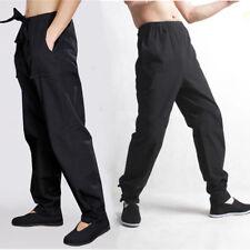 New China Kung Fu Martial Arts Shaolin Cotton Casual Long Pants Combat Trousers