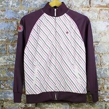 Quiksilver New Dream Team Track Top Retro Zip UP,Red Jacket/Coat size S,M