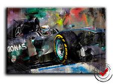 Lewis Hamilton Formel 1 Dig.Gemälde,Leinwand Bild Bilder,Racing,Deko Wandbild F1