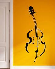 Wall Sticker Vinyl Decal Violin Retro Music Super Cool Decor  (z1060)