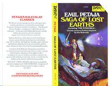 1970s Promo cover for SAGA OF LOST EARTHS Emil Petaja