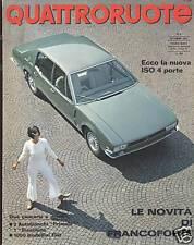QUATTRORUOTE-NUMERO 140-ANNO 1967-PRIMULA-BIANCHINA