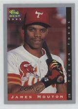 1993 Classic Best Minor League #225 James Mouton Tucson Toros Baseball Card
