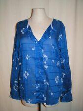 CAMPUS by MARC O'POLO Langarm Sommer Bluse Blusenshirt Tunika blau S M NEU