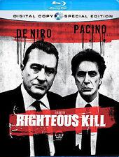 Righteous Kill (Blu-ray Disc, 2009)