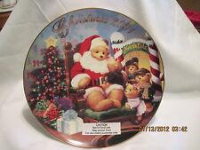 2001 Christmas Miniature Ornament Plate...22kt gold trim.. .. Avon