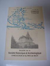 Sté Historique & archéologique d'ARCACHON et du Pays de Buch 1998
