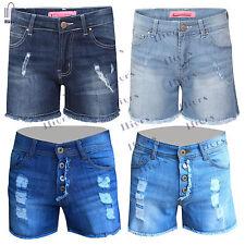 Shorts Denim Pants Womens Jeans Hot Summer Casual Waist High Short lot Ripped