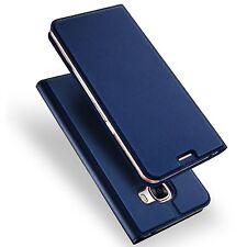 Samsung Galaxy A5 A3 2017 Case Cover Premium PU Leather Flip+Fitted Clear Bumper