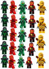 24 Muffin & Cupcake Aufleger Oblate - Fondant  Lego Ninjago C5