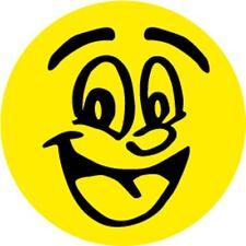 Auto Aufkleber Smile Smiley Deko Fliesen Wand Tür Fenster WC Toilette Schrank