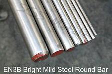 EN3B Bright Mild Steel Round Bar 4mm - 25mm Diameter - Popular Pre Cut Lengths