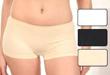 2, 4 oder 8 Stück Damen Pant seamless Boxershorts Shorts Slips Pantys Hipster