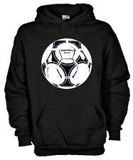 Felpa con cappuccio Vintage hoodie KV34 Settantallora soccer pallone Tango