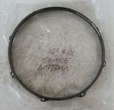 """Black Nickel 2.3 Triple Flanged Drum Hoops - 8 / 12 / 13 /16 / 12"""" Snare"""